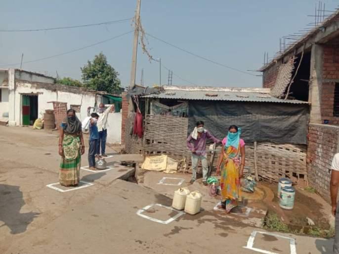 forget fighting for water | Corona virus in Chandrapur; विसरा आता नळावरची भांडणे; गुण्यागोविंदाने पाणी भरा