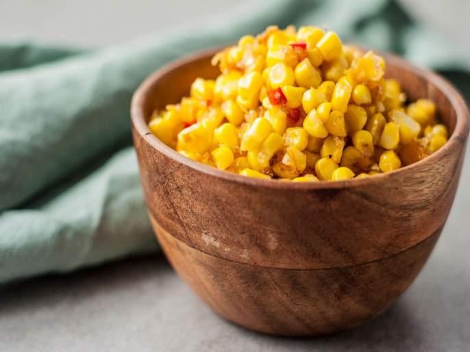 Sweet corn is a healthy snacks know its health benefits   स्वीट कॉर्न ठरतं हेल्दी स्नॅक्स; दाण्यांसोबतच धागेही फायदेशीर