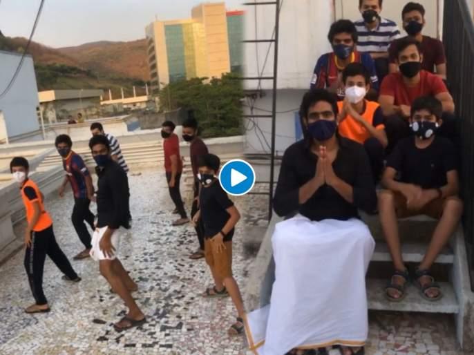 Actor sandeep Pathak's dance video viral on social media   मराठमोळा अभिनेता संदीप पाठकचा डान्स तूफान व्हायरल, व्हिडीओतून दिला मोलाचा संदेश