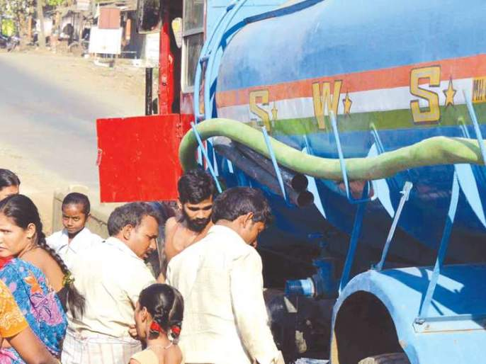 Scarcity of water scarcity in cold; Supply by tanker to Ulhasnagar | ऐन थंडीत पाणीटंचाईचे चटके;उल्हासनगरला टँकरने पुरवठा