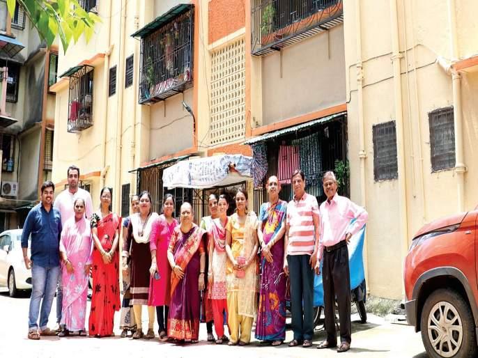 Marathi Bana Japatari Om Radhakrishna Society | मराठी बाणा जपणारी ओम राधेकृष्ण सोसायटी