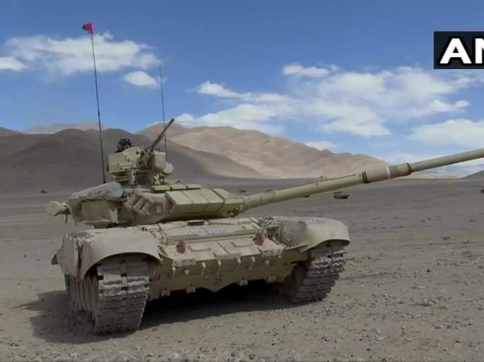 t-90 and t-72 tanks are deployed in ladakh by india indian soldiers will teach lessons to enemies even in 40 degrees | India-China standoff: भारताकडून लडाखमध्ये टी-९० आणि टी-७२ टँक तैनात; चीनला शिकवणार धडा