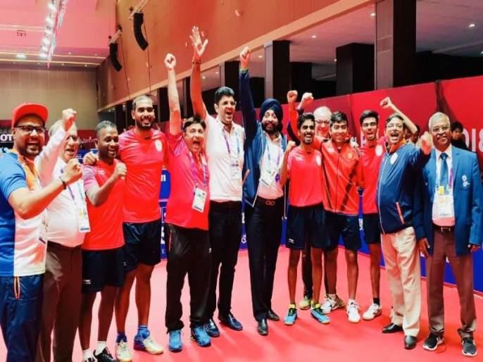 Asian Games 2018: Historical Medal of Table Tennis Team | Asian Games 2018: टेबल टेनिस संघाचे ऐतिहासिक पदक