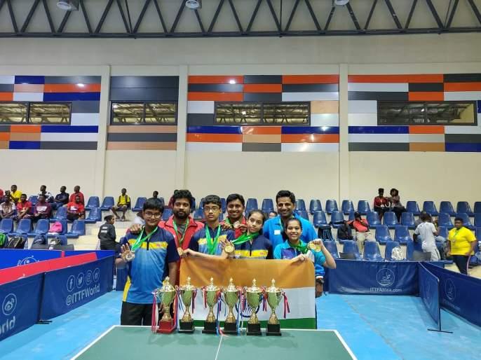Table Tennis: Ananya chande win gold, India win 12 medals in ghana open | टेबल टेनिस : अनन्या, दिया यांची चमक, भारताला एकूण 12 पदकं