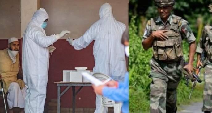 Coronavirus: Troops at hospital after obscene acts of people in Tbiligi tribe in delhi corona quarantine MMG | Coronavirus: तबलिगी जमातमधील लोकांच्या अश्लील कृत्यानंतर सैन्य दलाचे पथक रुग्णालयात