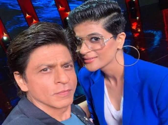 Shah Rukh's hairstyle was copied by his wife Ayushaman Khuraran's wife Tahira Kashyap | चक्क शाहरुखची हेअर स्टाइल कॉपी केली आयुष्यमान खुराणाच्या पत्नीने, फोटो आला समोर