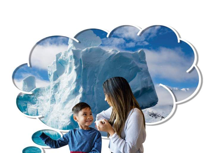 Children's excited experiment on Global Warming ! | घरातला उत्तर ध्रुव!