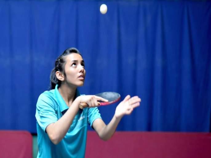 Tanisha Kotecha's selection in the Indian Table Tennis Team | भारतीय टेबल टेनिस संघात नाशिकच्या तनिषा कोटेचाची निवड