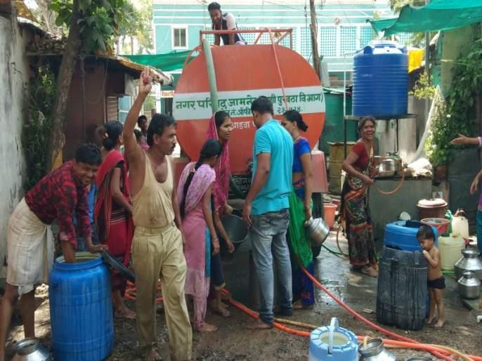 Shocking There was no water in the tank of rain water in 34 years | धक्कादायक; रानमसले गावात ३४ वर्षात एकदाही नळाला पाणी आले नाही