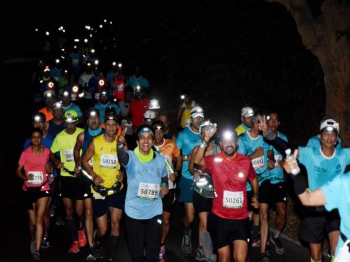 Lonavla to Tikona the Tata Ultra Marathon concluded on Sunday | लोणावळा ते तिकोना दरम्यान टाटा अल्ट्रा मॅरेथॉन संपन्न