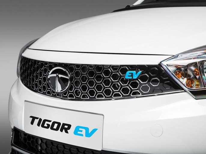 Tata's new electric Tigor arrives; Available for general customer in 9.44 lakhs | टाटाची नवीन इलेक्ट्रीक टिगॉर आली; सामान्यांसाठीही उपलब्ध