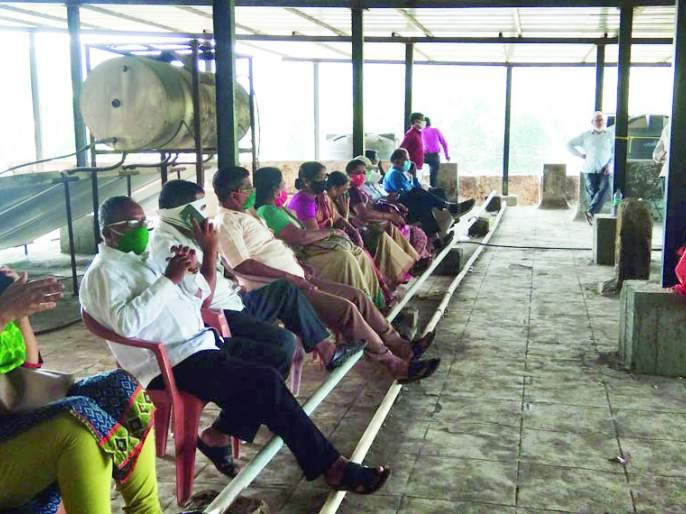 Corona patient at SMS Hospital at Bharne | भरणे येथील खासगी रुग्णालयात कोरोना रुग्ण