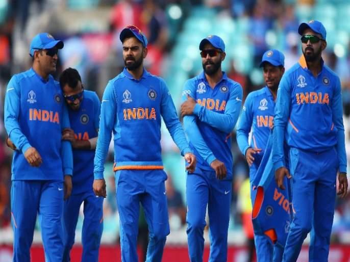 Name of Indian company to be featured on Team India jersey   टीम इंडियाच्या जर्सीवर झळकणार 'या' भारतीय कंपनीचे नाव
