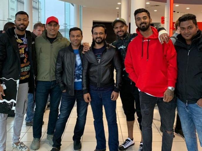 ICC World Cup 2019: Team India saw 'Bharat' film; Salman Khan said thank you | ICC World Cup 2019 : टीम इंडियाने पाहिला 'भारत'; सलमानने मानले आभार