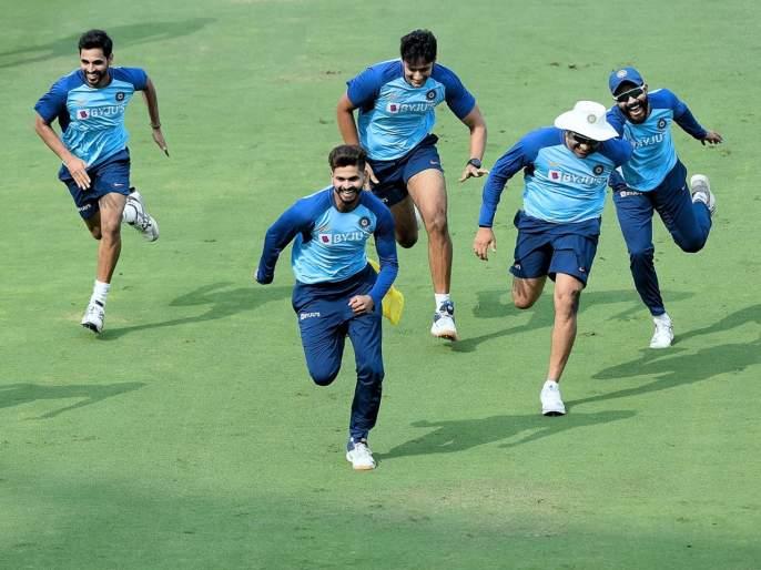 Video: India vs West Indies : Indian players practice unique drill ahead of 1st T20I against West Indies | India vs West Indies : पहिल्या ट्वेंटी-20 पूर्वीच टीम इंडियाच्या खेळाडूंची पळापळ, पाहा Video