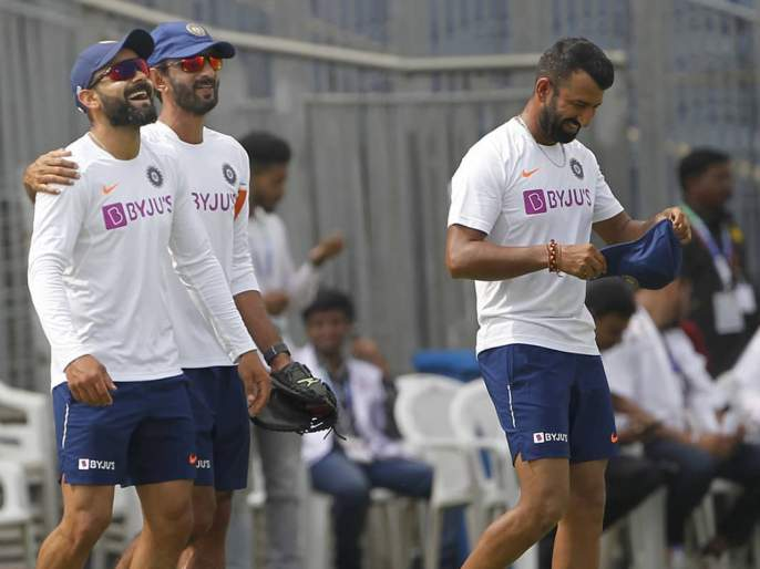 India vs South Africa, 2nd Test : Virat Kohli confirms Ravichandran Ashwin, Ravindra Jadeja as India's first-choice spinners ahead of Pune Test | India vs South Africa, 2nd Test : पुणे कसोटीसाठी टीम इंडिया ठरली, कॅप्टन कोहलीनं दिले संकेत