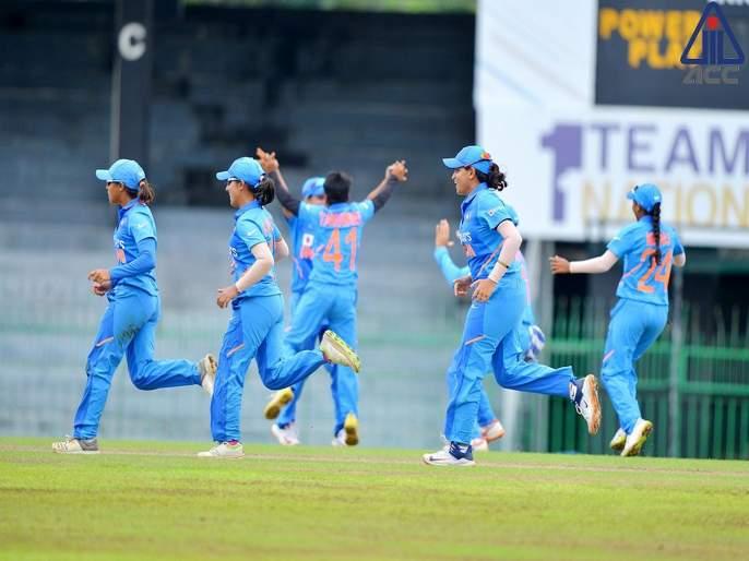 Team India are the winners of the inaugural ACC Women's Emerging Teams Asia Cup; beat Sri Lanka   Breaking : भारतानं आशिया चषक जिंकला, श्रीलंकेला चारली धूळ
