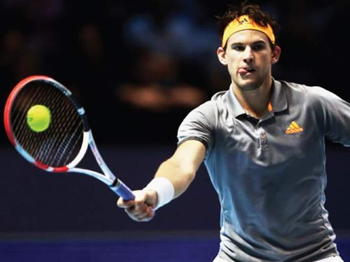 ATP Finals Tennis: Thiem-Sitasipas will compete for the title; Past winner Zverev Gard | एटीपी फायनल्स टेनिस: थिएम-सिटसिपास जेतेपदासाठी भिडणार; गतविजेता झ्वेरेव गारद