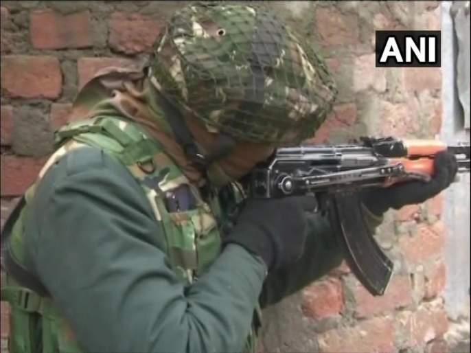 Lashkar-e-Taiba terrorist arrested in jammu-Kashmir | काश्मीरमध्ये लष्कर - ए - तोयबाच्या दहशतवाद्याच्या आवळल्या मुसक्या