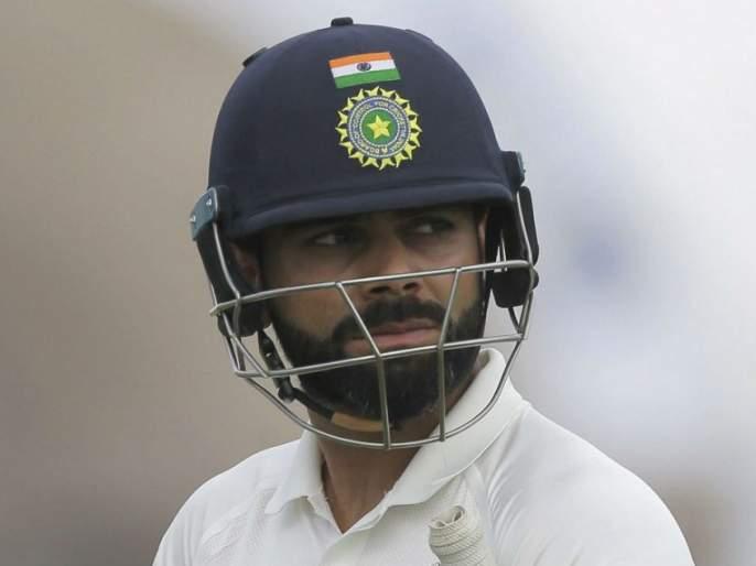 NZ vs IND: bad record in Virat Kohli's name; ms Dhoni is at the top of the list   NZ vs IND : Virat Kohliच्या नावावर झाला नकोसा विक्रम; धोनी आहे यादीमध्ये अव्वल
