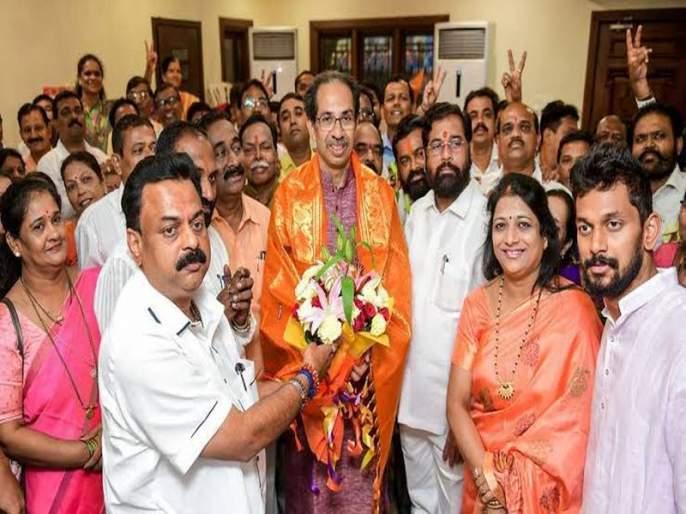Maharashtra Government : Shiv Sena MLAs go to Jaipur   Maharashtra Government : शिवसेनेच्या आमदारांचे वऱ्हाड चालले जयपूरला!