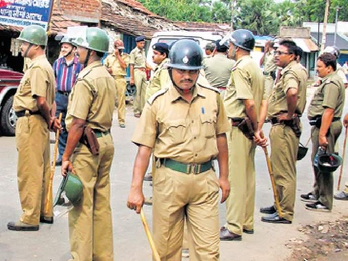 The guard of the 19 thousand 855 police   १९ हजार ८५५ पोलिसांचा जागता पहारा
