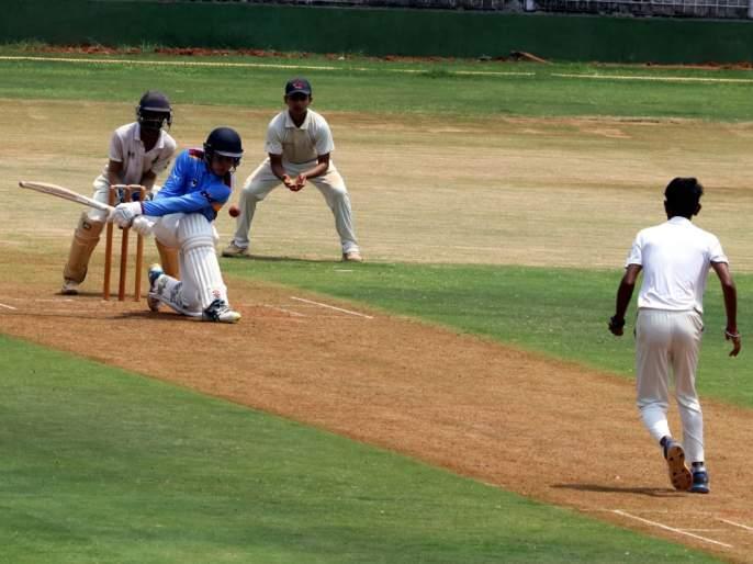 Thane against Australia cricket match played | दादोजी कोंडदेव मैदानातरंगलाठाणेविरुध्दऑस्ट्रेलिया असाक्रिकेटसामना