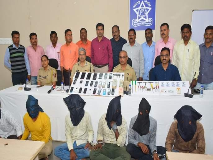 'Chennai Gang' arrested, who was carrying money bags from the vehicle | वाहनातून पैशांच्या बॅगा पळविणाऱ्या 'चेन्नई गँग'ला ब्रेक; देशभरातील विविध शहरात होते 'वॉन्टेड'
