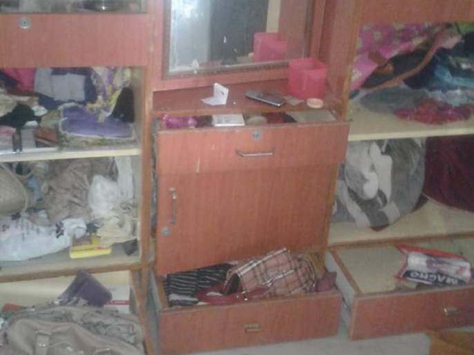 Khamgaon: Theft at house | खामगाव : तापडीया नगरातील घर फोडले!
