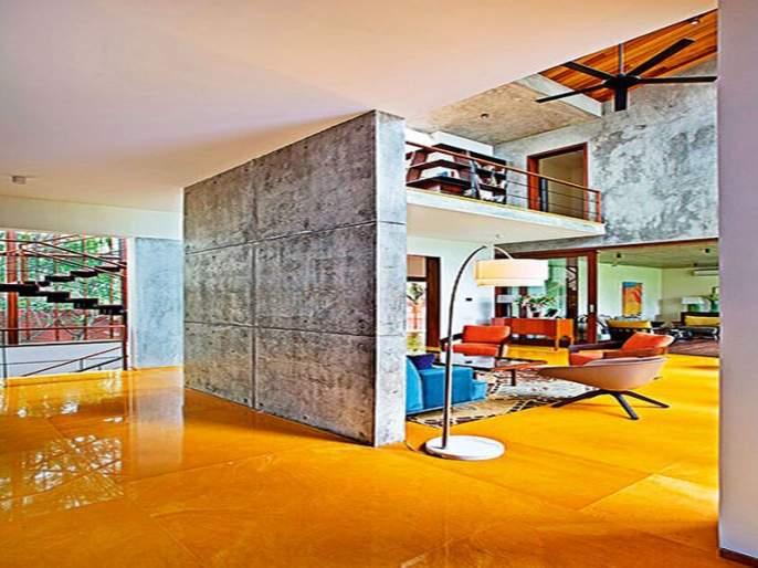 Strong and charming tile, easy to decorate a house with a pleasant and pleasant formula | मजबूत आणि मोहक फरशी, मनासारखं घर सजवण्याचं सोपं आणि प्रसन्न सूत्र
