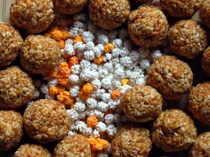 Not just sesame oil, but jaggery candy too! makar sankranti | तिळाची नुसती स्निग्धता नको, तर गुळाची गोडीही हवी !