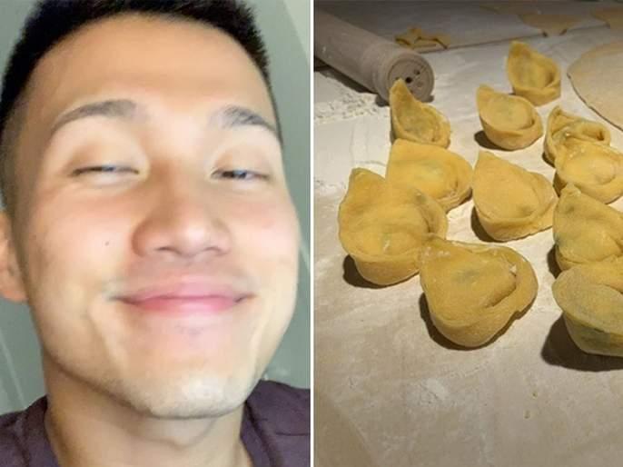 Boy woos tinder match by making pasta post goes viral on twitter | टिंडरवरील तरूणीला इम्प्रेस करण्यासाठी 'याने' केला असा फंडा, तरूणीसोबतच पब्लिकही झाली फिदा!