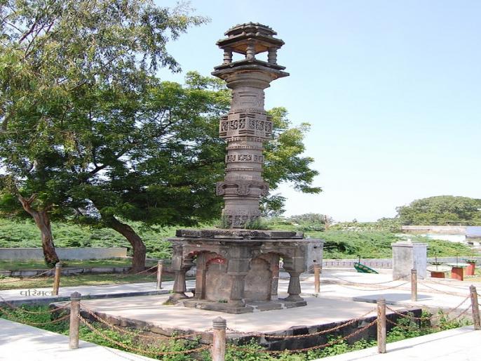 Paithan's pilgrimage to witness 'Shalivahan' history returns | 'शालिवाहन' इतिहासाची साक्ष देणाऱ्या पैठणच्या तीर्थस्तंभाचे गतवैभव परतणार