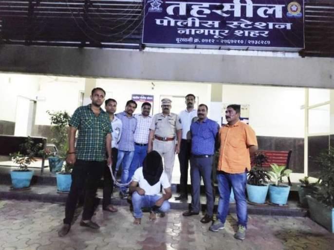 TMC leader's murder accused found in Hansapuri in Nagpur | नागपुरातील हंसापुरीत सापडला टीएमसी नेत्याच्या खुनातील आरोपी