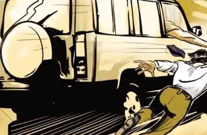 Attempt to crush a police constable, incident at Shatabdi Chowk, Nagpur | पोलीस शिपायाला चिरडण्याचा प्रयत्न, नागपूरच्या शताब्दी चौकातील घटना
