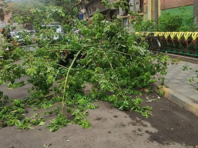 The impact of vayu cyclone will affect Mumbai   Cyclone Vayu: 'वायू' वादळाचं संकट टळलं तरी मुंबईत परिणाम जाणवणार