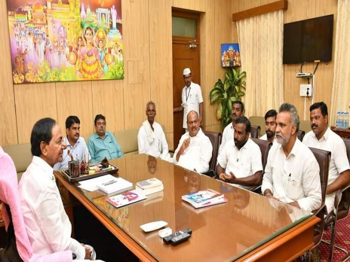 Telangana 'TRS' entry to be held in Maharashtra Assembly constituency | महाराष्ट्राच्या राजकारणात होणार तेलंगणाच्या 'टिआरएस'ची एन्ट्री; ५ जागा लढण्याचे संकेत