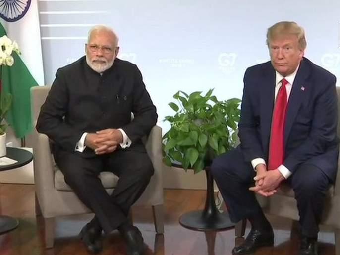 indo pak tensions less heated now than 2 weeks ago trump | भारत-पाकिस्तानमधील तणाव निवळला; पुन्हा मध्यस्थीसाठी तयार - डोनाल्ड ट्रम्प