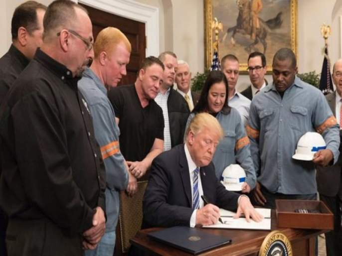 Trump tariffs US President imposes levy on steel and aluminium | ट्रम्प यांचा स्वदेशी बाणा, भारतीय उद्योगांना मोठा फटका बसण्याची शक्यता