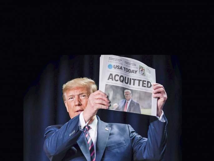Trump - the complicated journey of a controversial personality | ट्रम्प-एका वादग्रस्त व्यक्तिमत्त्वाचा गुंतागुंतीचा प्रवास