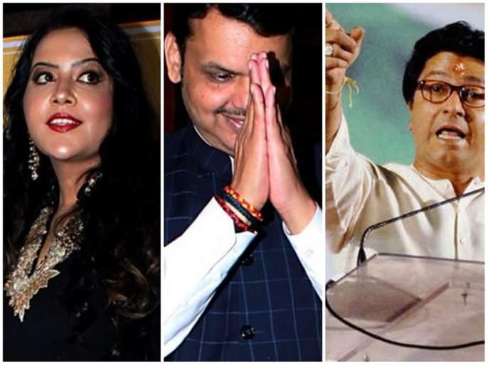 Raj Thackeray responds to criticism of Amrita Fadanvis Vidhan Sabha Election 2019 | Maharashtra Election 2019 : अमृता वहिनींच्या टीकेला राज ठाकरेंचं प्रत्युत्तर, पण टार्गेट मुख्यमंत्रीच