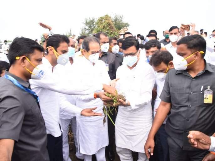state government will give adequate help to farmers assures cm uddhav thackeray   दोन दिवसांत शेतकऱ्यांसाठी मदतीचा निर्णय जाहीर करू- मुख्यमंत्री उद्धव ठाकरे