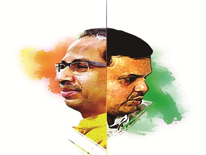 BJP break faith Vs insulting Hindu votes by Sena | भाजपने पाठीत खुपसला खंजीर Vs हिंदू मतांचा सेनेकडून अपमान