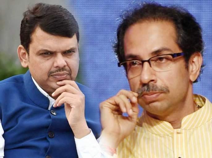 Fadnavis-Uddhav Thackeray meet Matoshree! | फडणवीस -उद्धव ठाकरे यांची मातोश्रीवर झाली चर्चा!
