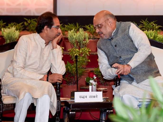 Maharashtra Election 2019 bjp president amit shah breaks his silence on shiv senas chief ministerial candidate | महाराष्ट्र निवडणूक 2019: 'मातोश्री'तील बंद खोलीत नेमकं काय झालं?; अमित शहांनी 'संस्कारां'वर बोट ठेवलं!