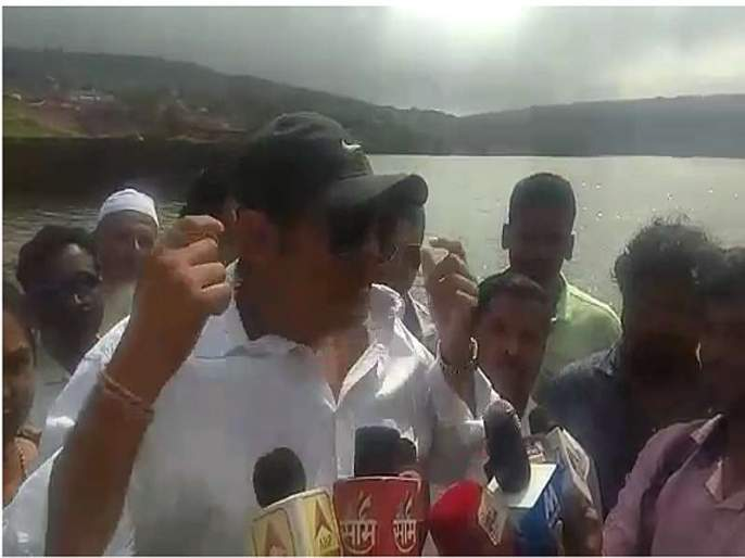 Video: Accepted UNESCO's approval, Udayanaraje completes the commitments of water for satara | Video : 'यूनेस्को'ची परवानगी मिळवली, एक बार जो उदयनराजेंनी 'कमिटमेंट' कर दी...