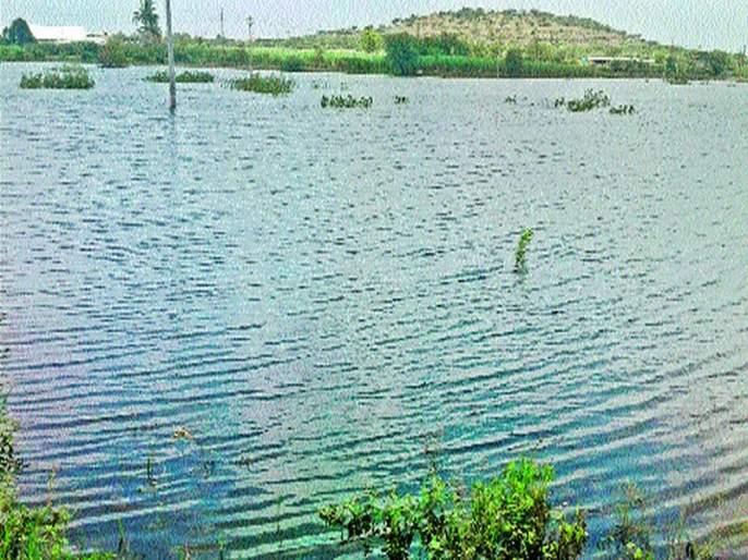 Uyuni water resources increase by one percent   उजनी पाणीसाठ्यात एक टक्क्याने वाढ