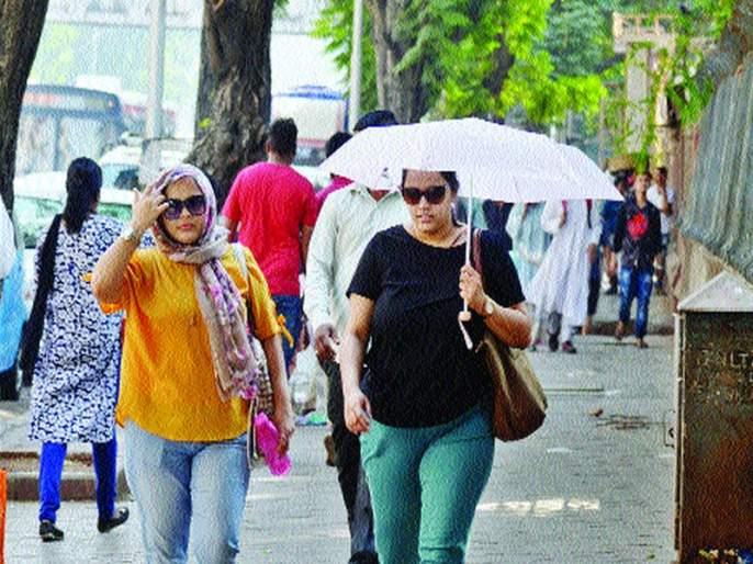 Summer hit Mumbai; Light rain with thunderstorms maintained   मुंबईला बसला ऊन्हाचा तडाखा; मेघगर्जनेसह हलक्या पावसाचा इशारा कायम