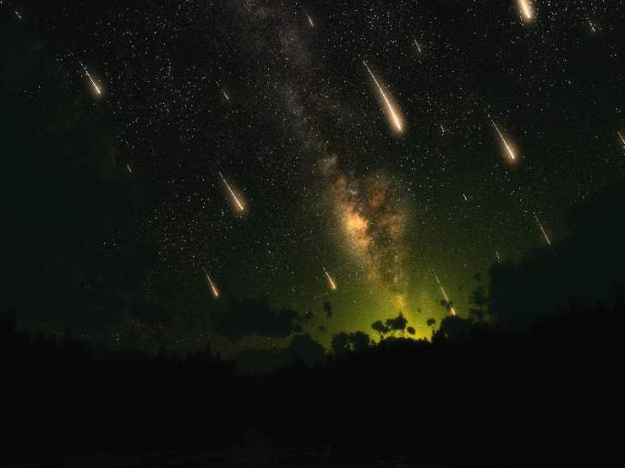Meteorite will be done tomorrow morning | उद्या पहाटे होणार उल्कावर्षाव