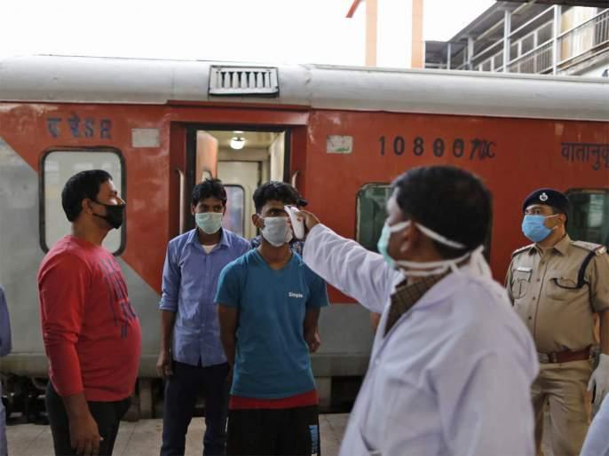 Tests of 9,779 passengers affected by ten train passengers corona in the test | चाचणीत दहा रेल्वे प्रवासी कोरोनाबाधित ९ हजार ७७९ प्रवाशांच्या चाचण्या